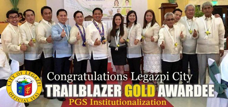 2017 PGS GOLD TRAILBLAZER AWARDEE