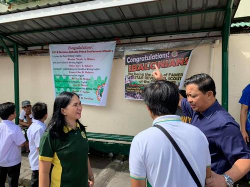 Blessing of 4-Storey Building at Ibalon Central School