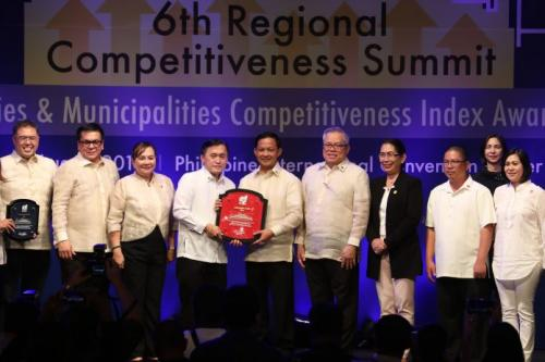 Legazpi Named as the Country's Most Competitive City by NCC