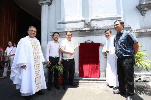 Unveiling of the Historical Marker of Albay Cathedral